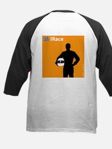 iRace Orange Race Car Driver Tee