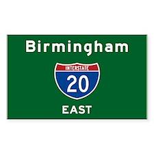 Birmingham 20 Decal
