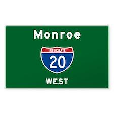 Monroe 20 Decal