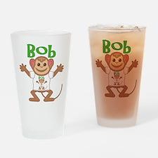 Little Monkey Bob Drinking Glass