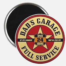Dad's Garage Magnet