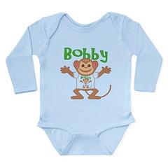 Little Monkey Bobby Long Sleeve Infant Bodysuit