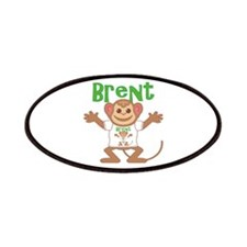 Little Monkey Brent Patches