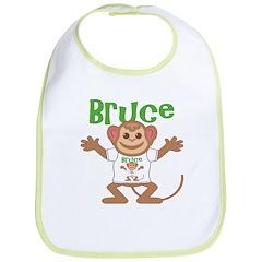 Little Monkey Bruce Bib