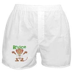 Little Monkey Bruce Boxer Shorts