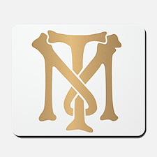 Tony Montana Monogram Mousepad