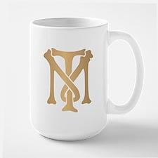 Tony Montana Monogram Large Mug