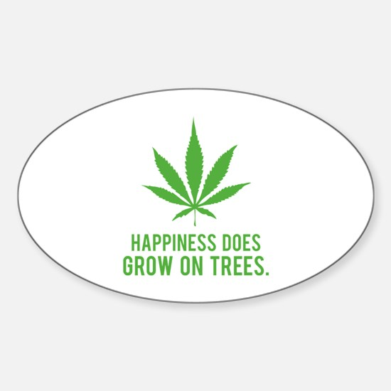 Hapiness Sticker (Oval)