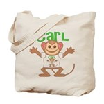 Little Monkey Carl Tote Bag