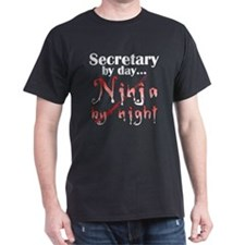 Secretary Ninja T-Shirt