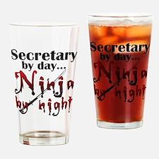 Secretary Ninja Drinking Glass