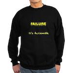 Failure Is Achievable Sweatshirt (dark)