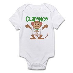 Little Monkey Clarence Infant Bodysuit