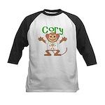 Little Monkey Cory Kids Baseball Jersey