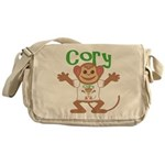Little Monkey Cory Messenger Bag