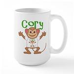 Little Monkey Cory Large Mug