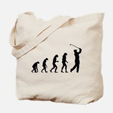 Evolution golf Tote Bag