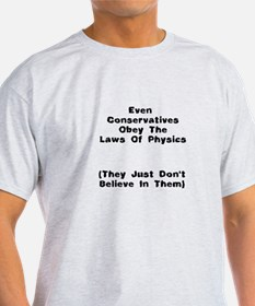 The Laws Of Physics T-Shirt