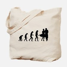Evolution dancing Tote Bag