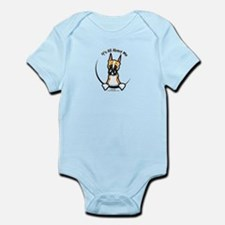 Funny Boxer Infant Bodysuit