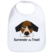 Surrender the Treat Bib