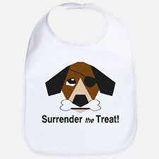 Surrender the Treat Bib