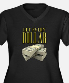 Get Every Dollar Scarface Women's Plus Size V-Neck