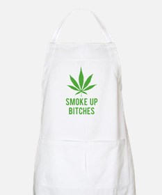Smoke up bitches Apron