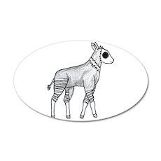 Okapi 22x14 Oval Wall Peel
