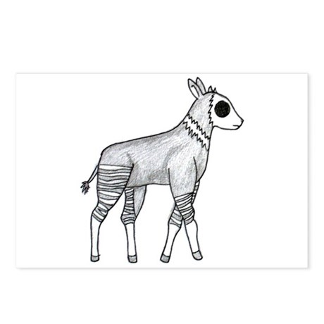 Okapi Postcards (Package of 8)