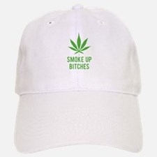 Smoke up bitches Baseball Baseball Cap