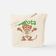 Little Monkey Dakota Tote Bag