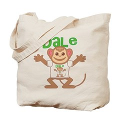 Little Monkey Dale Tote Bag