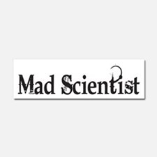Mad Scientist Car Magnet 10 x 3