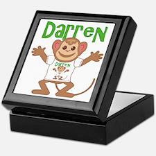 Little Monkey Darren Keepsake Box