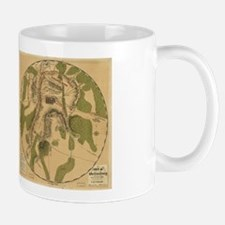 Gettyburg Map Mug