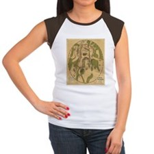 Gettyburg Map Women's Cap Sleeve T-Shirt