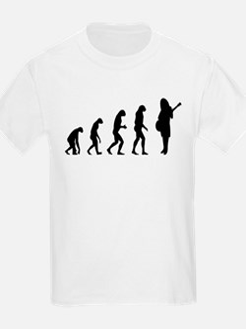 Evolution guitar player T-Shirt