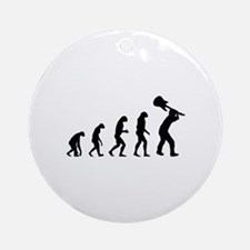 Evolution rock Ornament (Round)