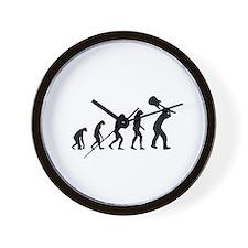 Evolution rock Wall Clock