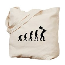 Evolution rock Tote Bag