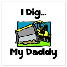 Dig Daddy Poster