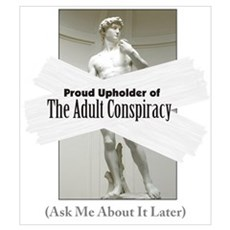 Adult Conspiracy Canvas Art