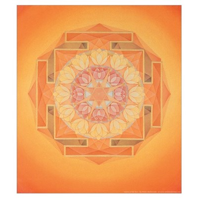 Sun Yantra Large Canvas Art