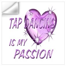 Tap Dancing Passion Wall Decal