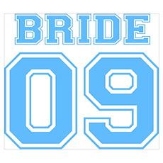 Bride 09 (Blue) Poster
