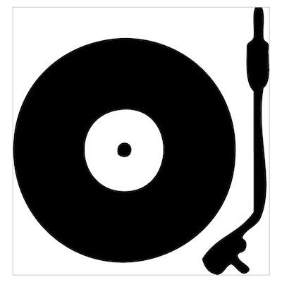 Vinyl Turntable 1 Poster