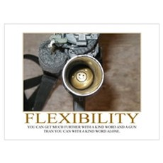 Flexibility Motivational Poster