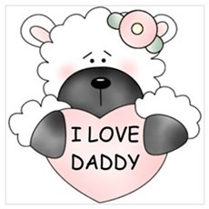 I LOVE DADDY Poster