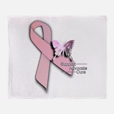 Breast Cancer - Throw Blanket